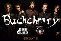 BUCKCHERRY / JOHNNY SOLINGER OF SKID ROW / COOZABLACK AND SIN CITY