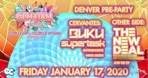 Buku w/ Supertask + theNEWDEAL w/ Ben Silver (Official Gem & Jam Pre Party)
