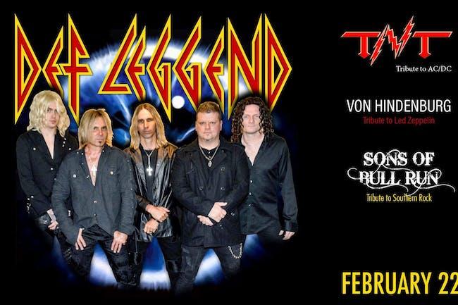 DEF LEGGEND - TRIBUTE TO DEF LEPPARD / TNT - TRIBUTE TO AC/DC