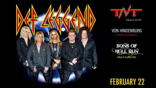 DEF LEGGEND - TRIBUTE TO DEF LEPPARD / TNT - TRIBUTE TO AC/DC