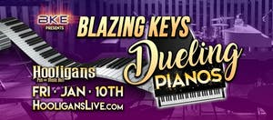 DUELING PIANOS featuring the awesome dueling talents of Blazin' Keys