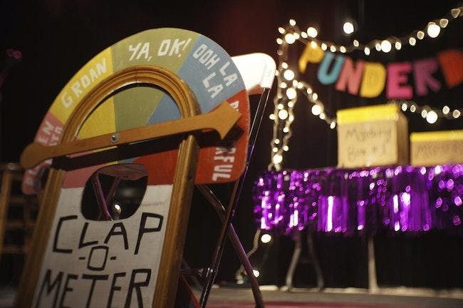 Punderdome®: NYC's  Comedy PUN Compuntition!