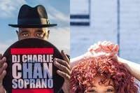 Charlie Chan Soprano (RUN DMC) with DJ Miss Brit