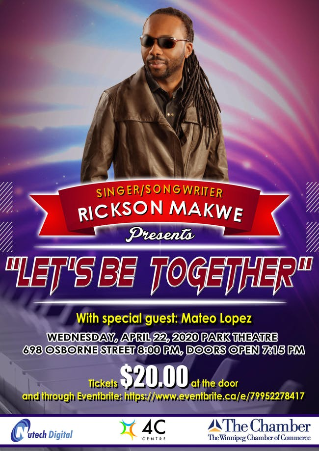 Rickson Makwe at the Park Theatre