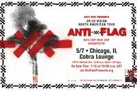 Postponed: Anti-Flag