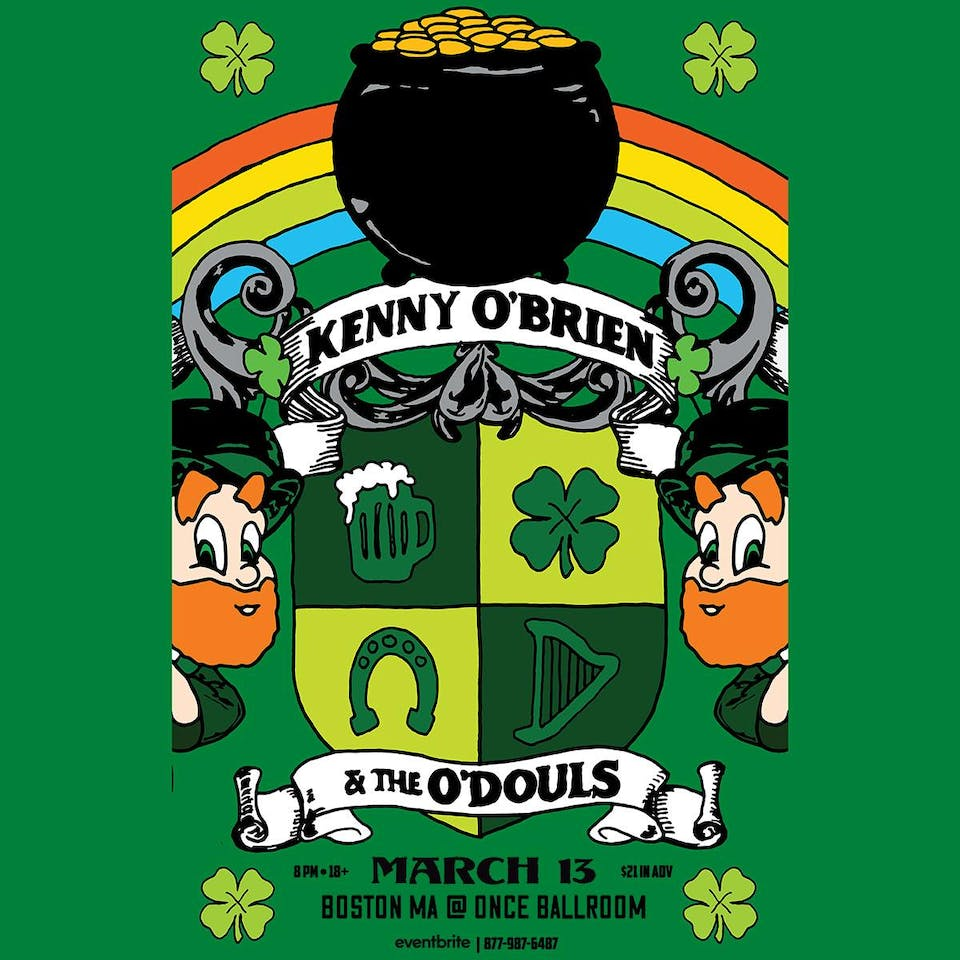 Kenny O'Brien & The O'Douls w/ Michael Kane & The Morning Afters(cover set)