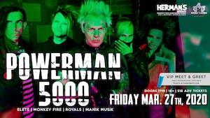 Powerman 5000 Live at Hermans Hideaway