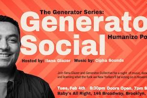 Generator Series w/ Ilana Glazer