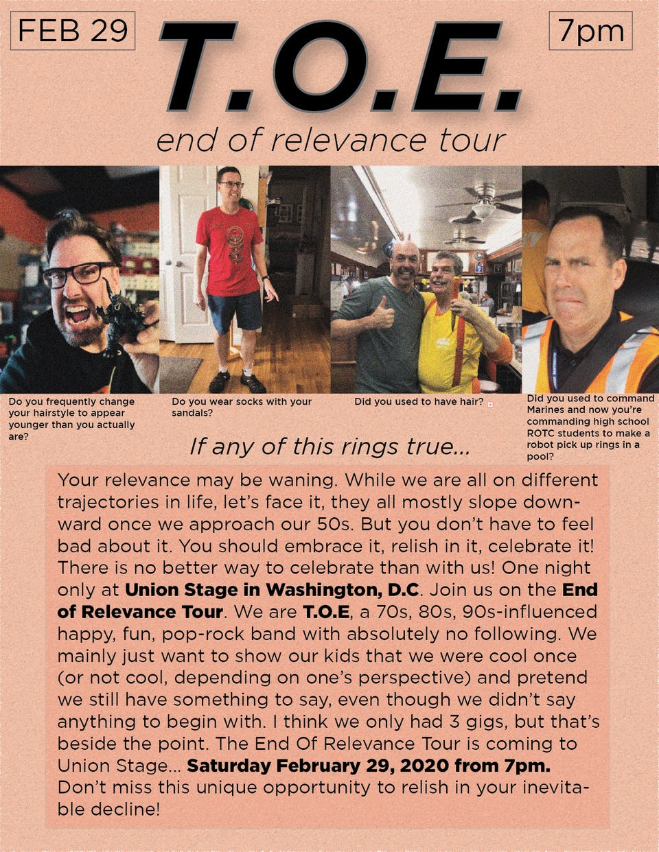 T.O.E - End of Relevance Tour