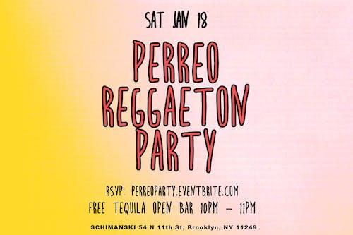Perreo Reggaeton Party