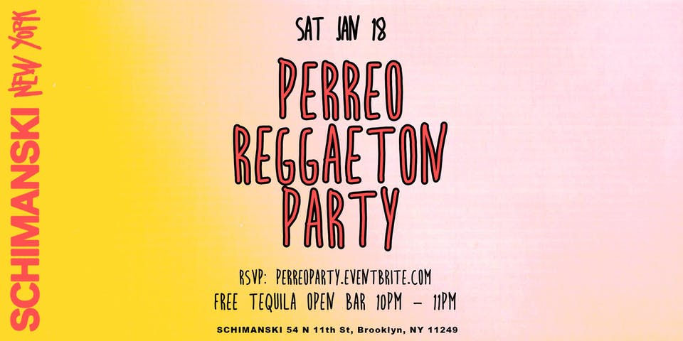 Perreo Reggaeton Party