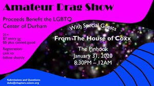 Amateur Drag Show 2020