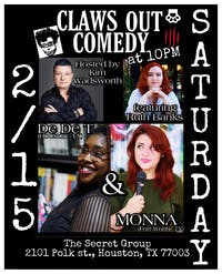 CLAWS OUT COMEDY: Dallas' Funniest Female Comedians + Special Guests!