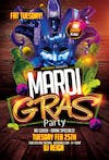 Fat Tuesday Mardi Gras Party - Dj Reign