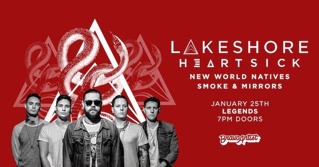 Lakeshore / Heartsick at Legends (1/25)