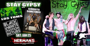 STAY GYPSY | LOS TOMS | BLACK & WHITE MOTION PIC | SEÑORITA SOMETIMES