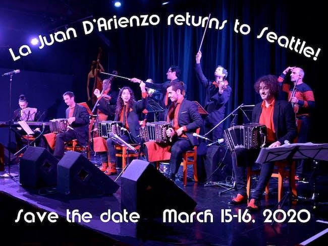 La Juan D'Arienzo in Seattle 2nd Show