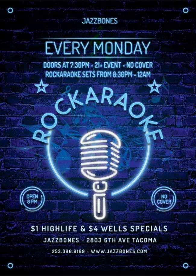 Rockaraoke - Karaoke with a Live Band