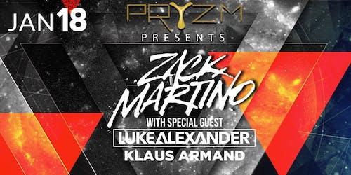 Zack Martino, Luke Alexander, Klaus Armand at Pryzm Club Grand Re-Opening