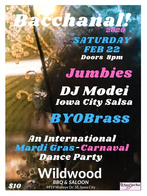 Jumbies, DJ Modei (IC Salsa) and BYOBrass