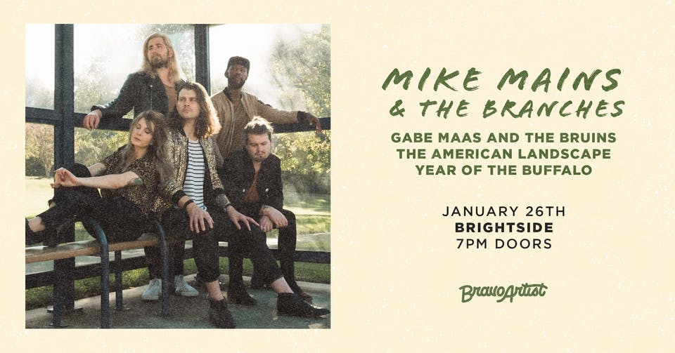 Mike Mains & The Branches at Brightside (1/26)