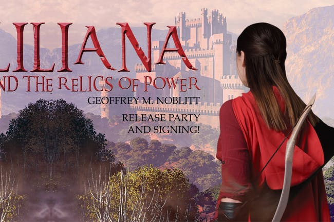 Liliana And The Relics Of Power Book Release Party
