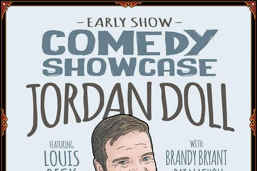 Comedy Showcase: Jordan Doll