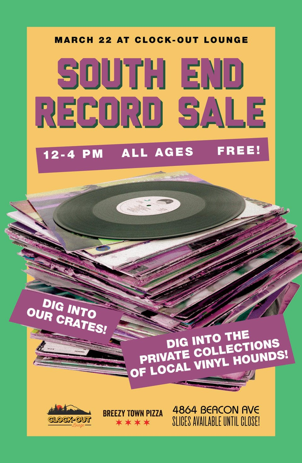 South End Record Sale