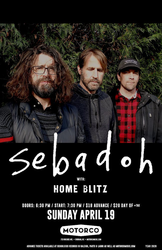 CANCELED -SEBADOH /Home Blitz