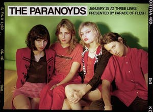 THE PARANOYDS • Strange Lot • Doll Toy
