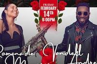 VIRAL Sax Duo Vandell Andrew & Romana de Meneges Valentine's Day  Concert!