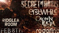Secret of Boris / Erstwhile / Crown Lucia / Redefine at the Ridglea Room