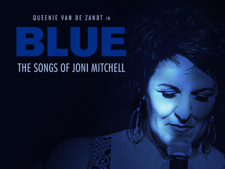 """Queenie van de Zandt """"Blue: The Songs of Joni Mitchell"""""""