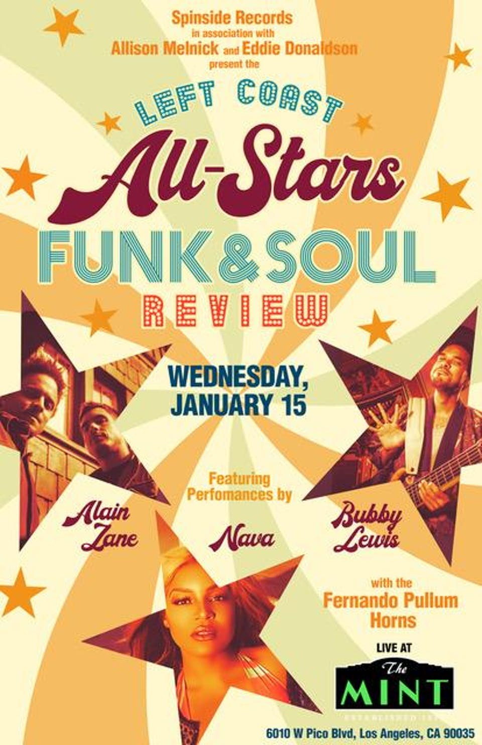 Left Coast All Stars Funk and Soul Review