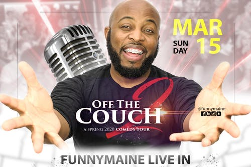 Funnymaine's Off the Couch 2 Tour - Live in Los Angeles