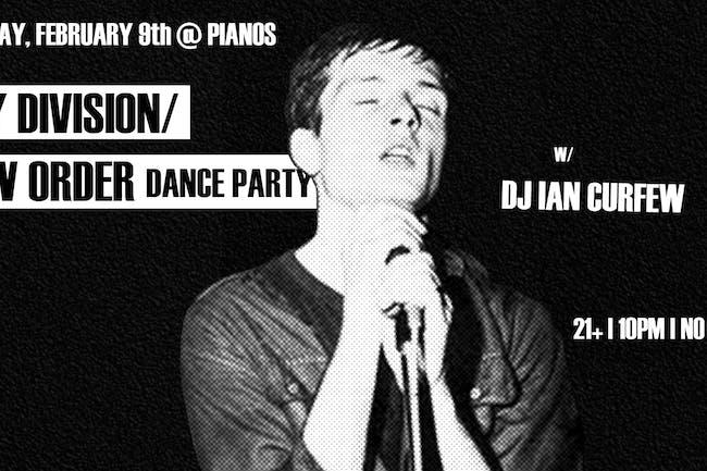 Transmission: Joy Division/New Order Dance Party