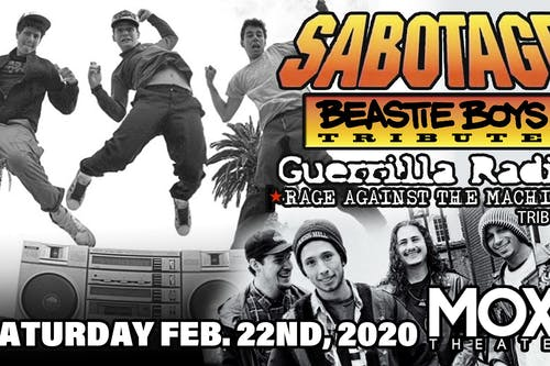 Sabotage (Tribute to Beastie Boys) w/ Guerrilla Radio (Tribute to Rage)