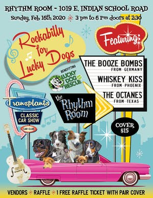 ROCKABILLY FOR THE DOGS! (Early show)