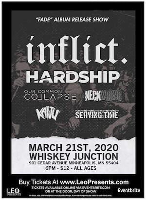 Inflict. Album Release