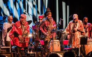 The Sun Ra Arkestra (afternoon concert)