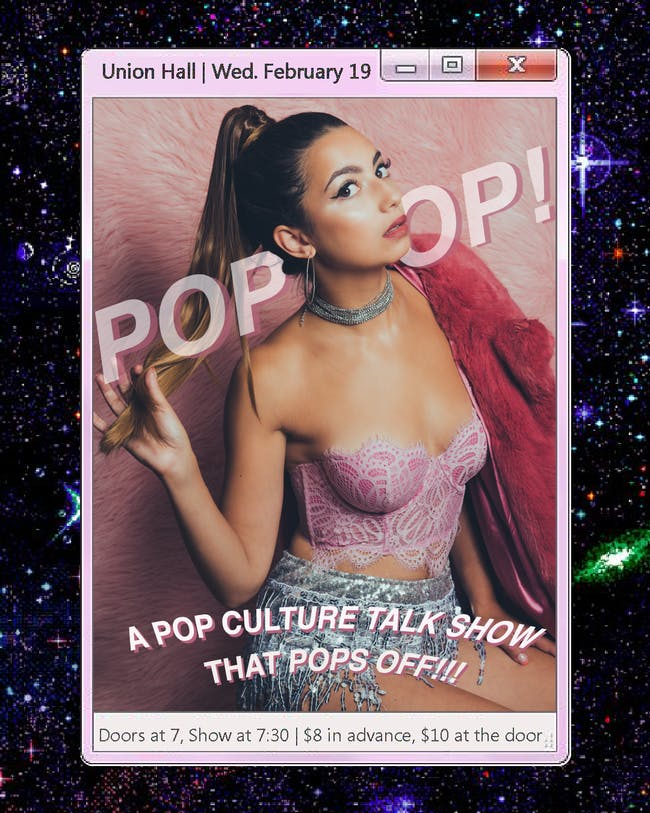 PopOp! The Pop Culture Talk Show that Pops Off!