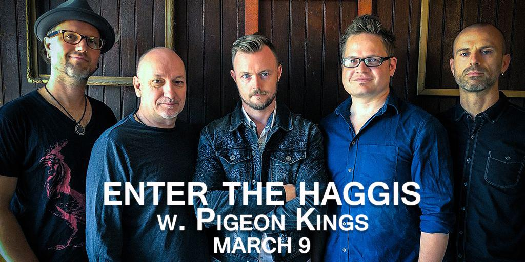 Enter the Haggis w/ The Pigeon Kings