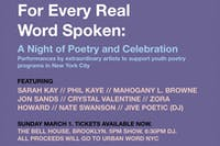 For Every Real Word Spoken: A Night of Poetry and Celebration
