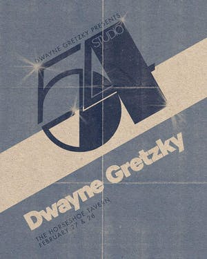 Dwayne Gretzky Presents Studio 54