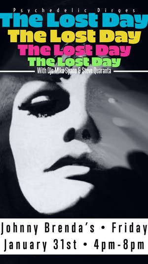 Friday HAPPY HOUR:  The Lost Day with DJ Mike Spano and Steve Quaranta