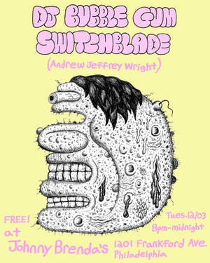 DJ Bubblegum Switchblade at Johnny Brenda's