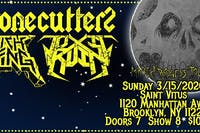 Lich King, Stonecutters, Toxic Ruin at Saint Vitus Bar