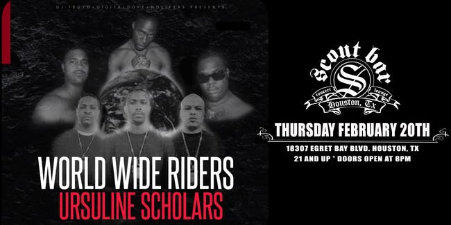 World Wide Riders w/ Ursuline $cholars & more