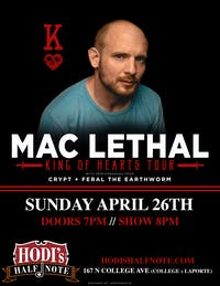 Mac Lethal w/ Special Guests