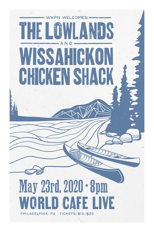The Lowlands / Wissahickon Chicken Shack {CANCELLED}